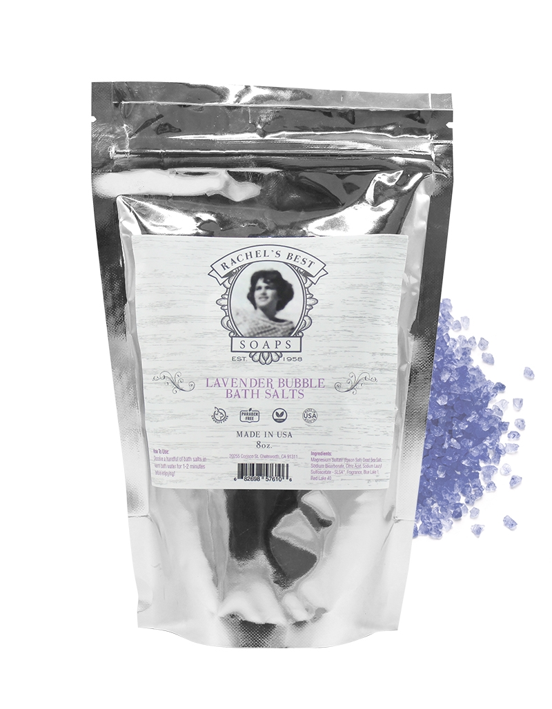 Lavender scented bath salt